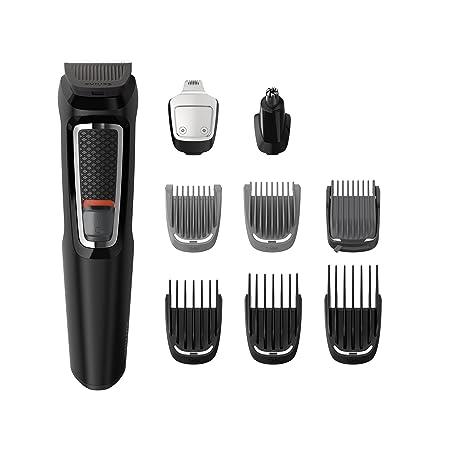 Philips MG3740/15 9 en 1 - Recortadora para Barba, Pequeños Detalles, Vello, Nariz y Orejas, CortaPelos Cara, Cabeza