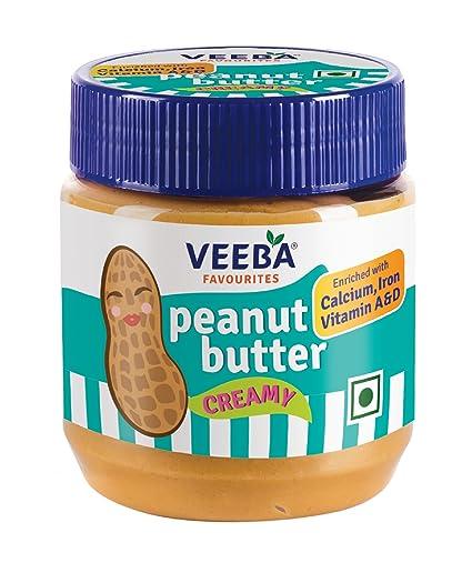 Veeba Peanut Butter, Creamy, 340g
