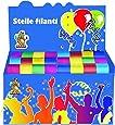 Ciao - Espositore 100 Stelle Filanti, Multicolore