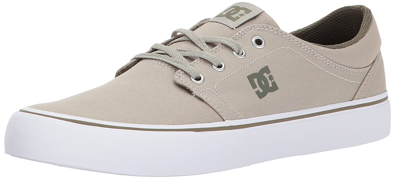 DC Men's Trase TX Unisex Skate Shoe B01N9HTK6D 10 D US|Limestone