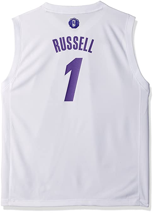 92fec9133900 NBA Youth Boys 8-20 Lakers D Angelo Russell X-Mas Day Replica Jersey ...