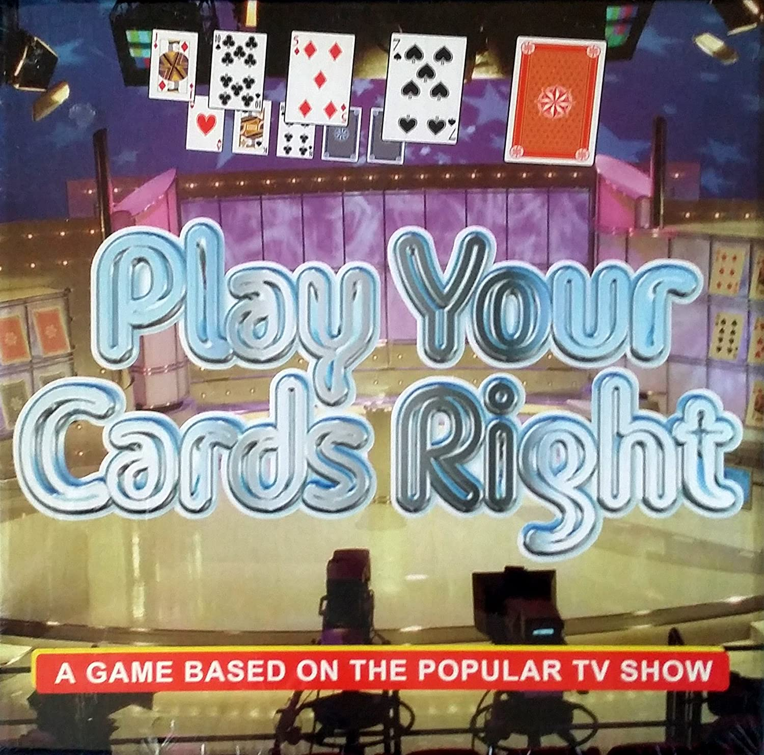 Play Your Cards Right - Board Game Based on the popular tv series by Toys: Amazon.es: Juguetes y juegos