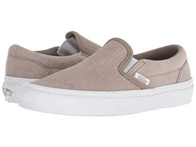 c995cac7e0c Image Unavailable. Image not available for. Color  Vans Classic Slip On  (Suede) Unisex Womens Skateboarding-Shoes ...