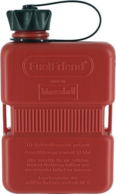 Fuelfriend Plus 1 0 Liter Klein Benzinkanister Mini Reservekanister Auto