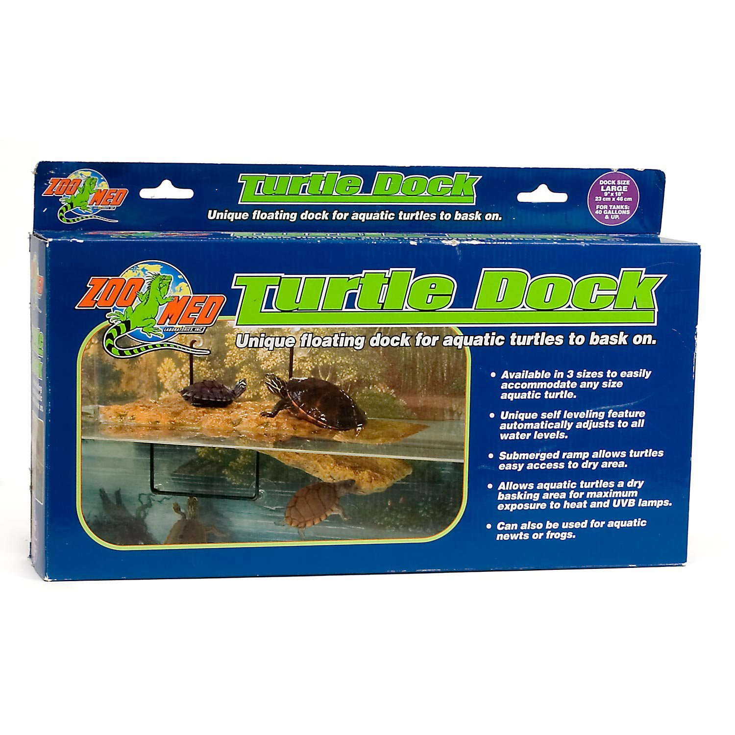 Zoo Med Turtle Dock for 40 Gallon Tanks, Large by Zoo Med
