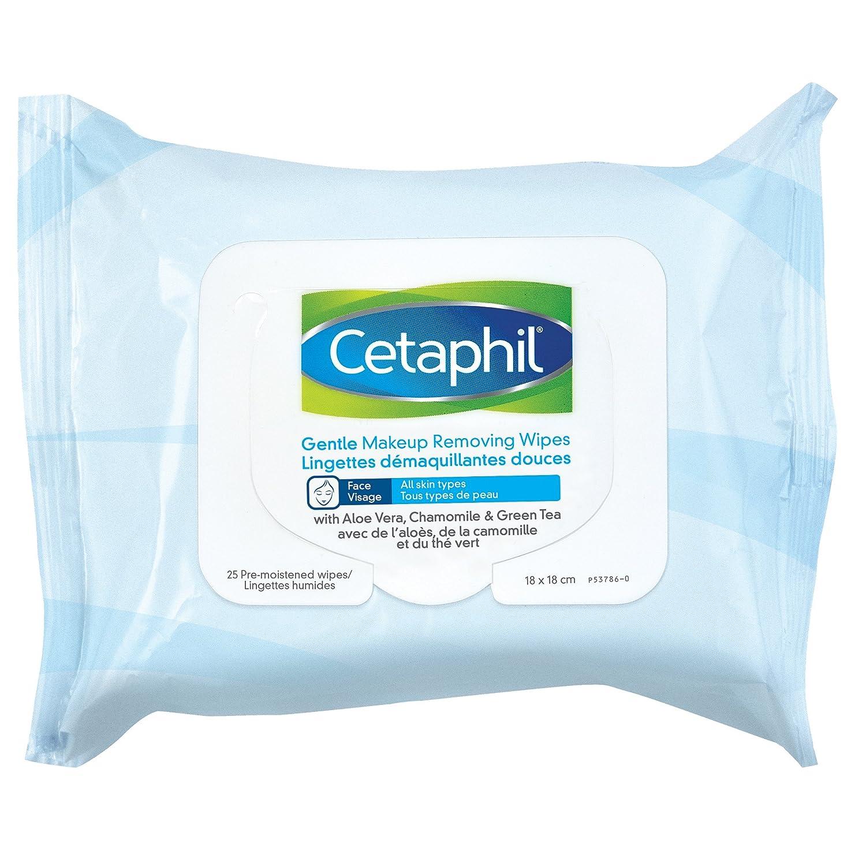 Cetaphil Gentle Makeup Removing Wipes, 25 Count Galderma