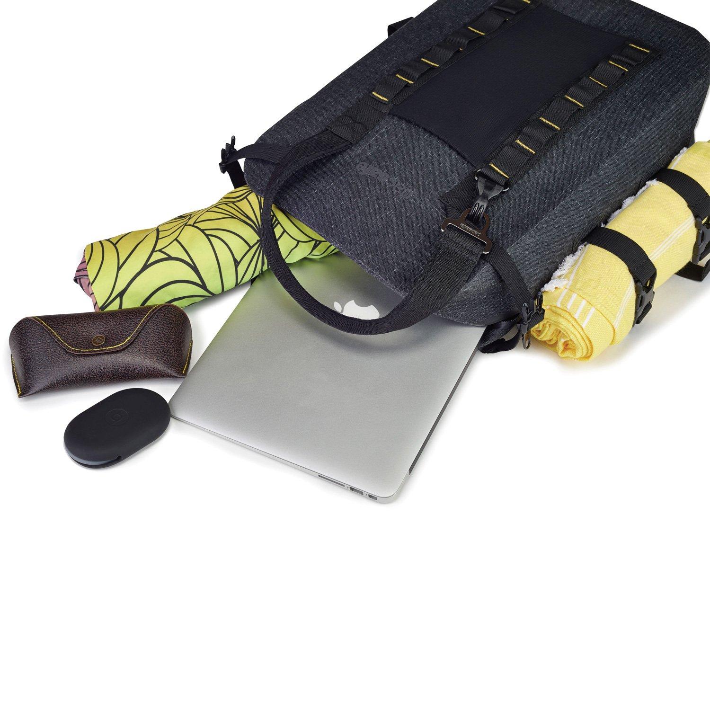 PacSafe Pacsafe Dry Anti-Theft Sac /à Dos Loisir Charcoal 104 25 L 46 cm