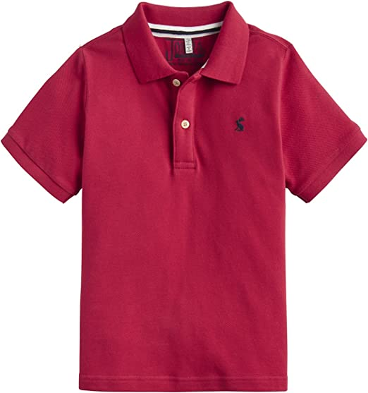 Joules Boys Woody Polo Shirt Years in FRENCH NAVY