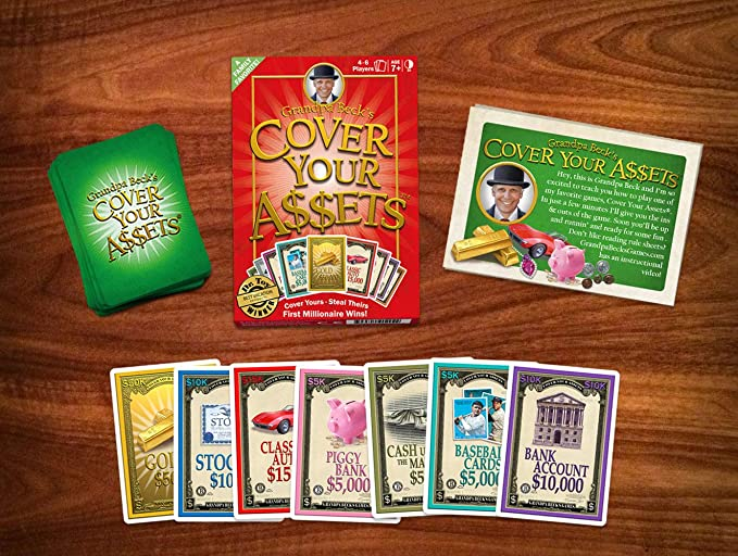 Grandpa Beck's Cover Your Assets Card Game | Fun Family-Friendly  Set-Collecting Game | Enjoyed by Kids, Teens, and Adults | From the  Creators of Skull