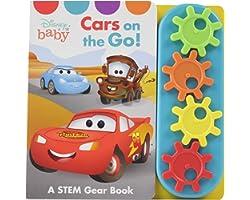 Disney Baby - Cars on the Go! - A STEM Gear Sound Book - PI Kids (Play-A-Sound)