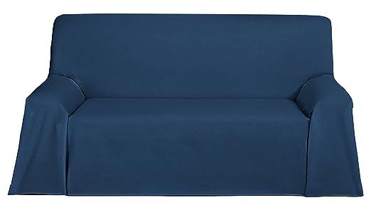 Martina Home Foulard, Tela, Azul, 250 x 270 cm