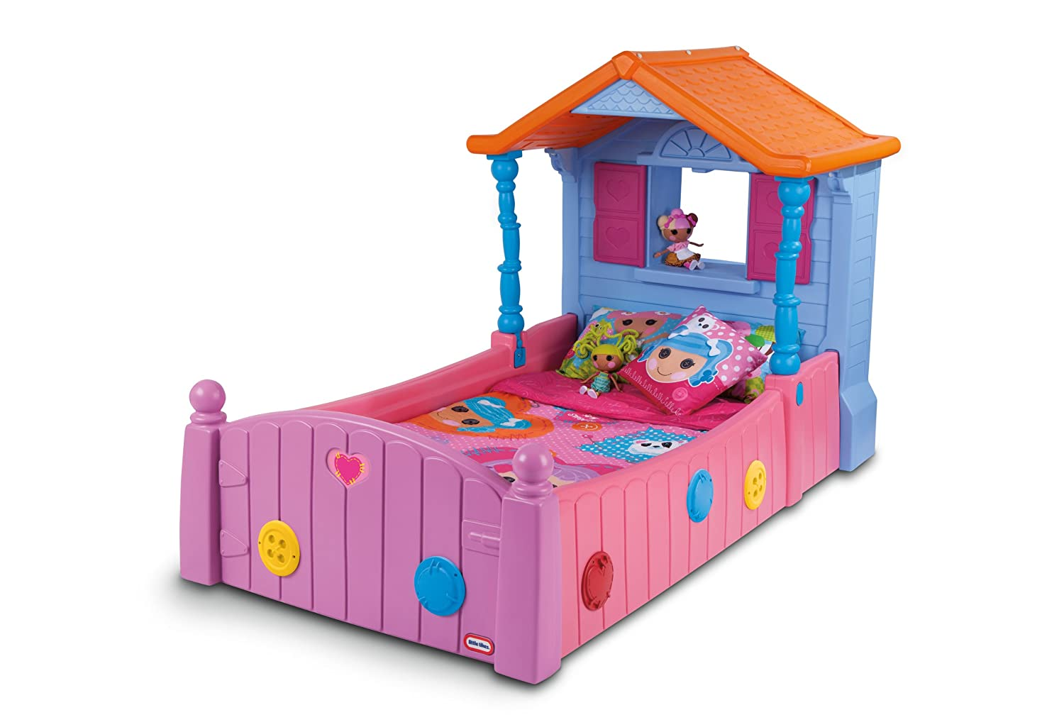 Amazon Lalaloopsy Twin Bed Toys Games
