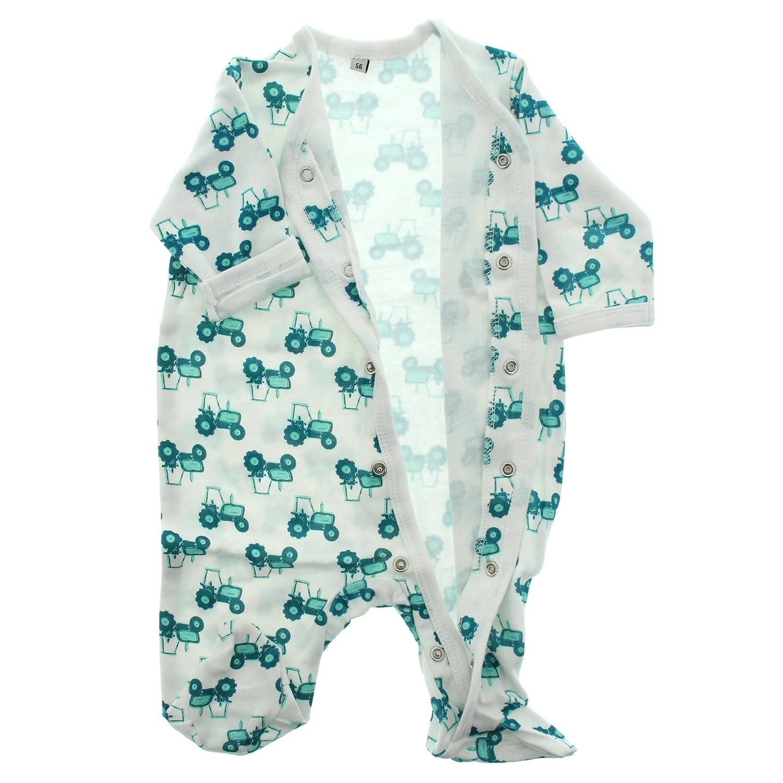 Gr/ö/ße: 80 Alter 9-12 Monate 3821 Pippi 2er Pack Baby Jungen Schlafstrampler mit Aufdruck Farbe: Hellblau Langarm mit F/ü/ßen