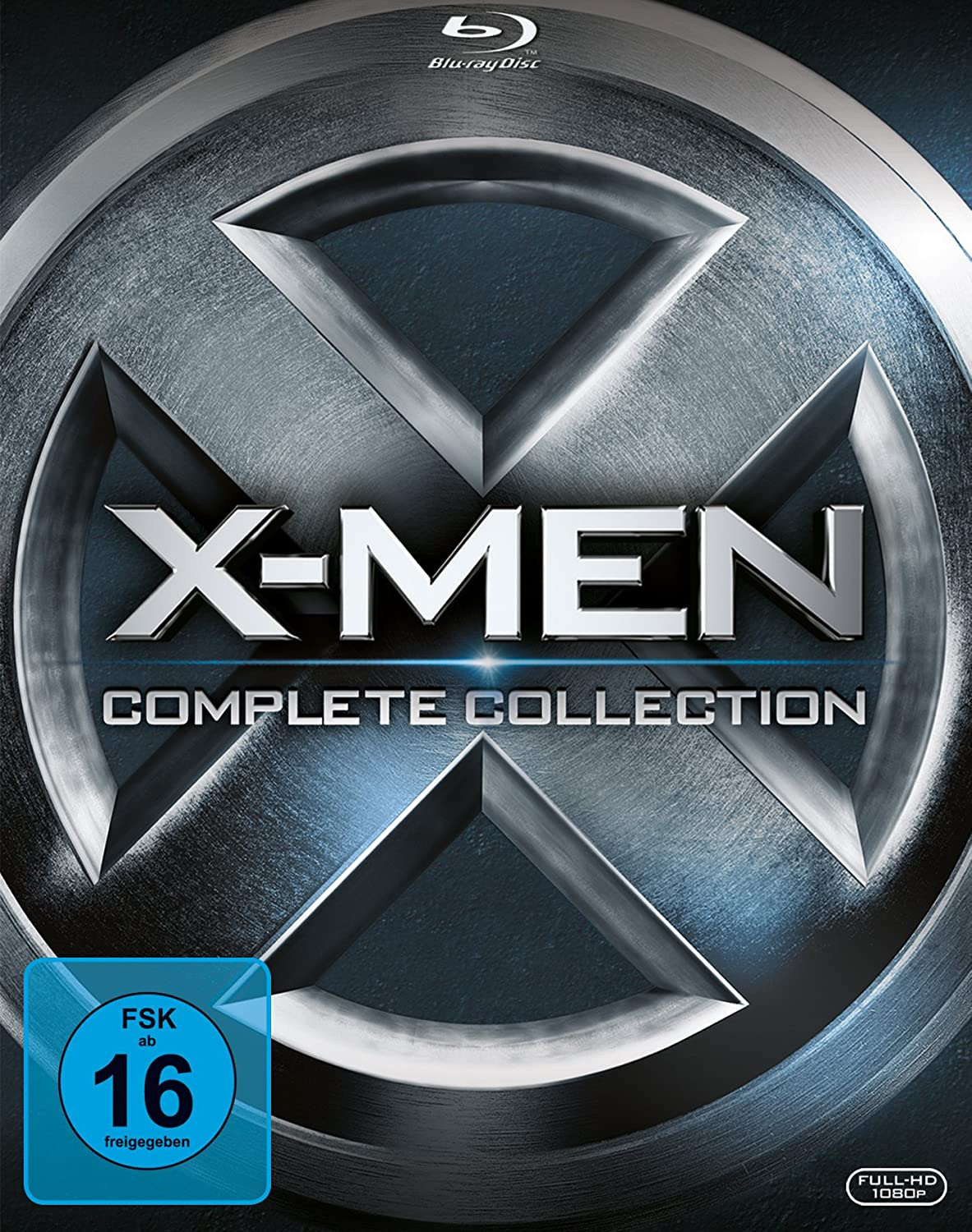 X-Men - Complete Collection [Alemania] [Blu-ray]: Amazon.es: Jackman, Hugh, Jackman, Hugh: Cine y Series TV