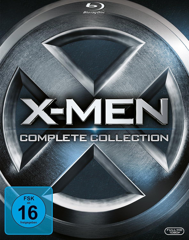 X-Men - Complete Collection [Alemania] [Blu-ray]: Amazon.es: Jackman, Hugh, Jackman, Hugh: Cine y Series TV