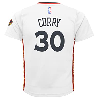 Stephen Curry  30 Golden State Warriors Adidas Youth Pride Replica Jersey  (X-Large 8369e8eaa