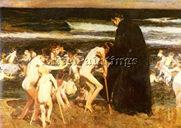 Sorolla Joaquin Triste Herencia Tableau Reproduction Huile Sur Toile