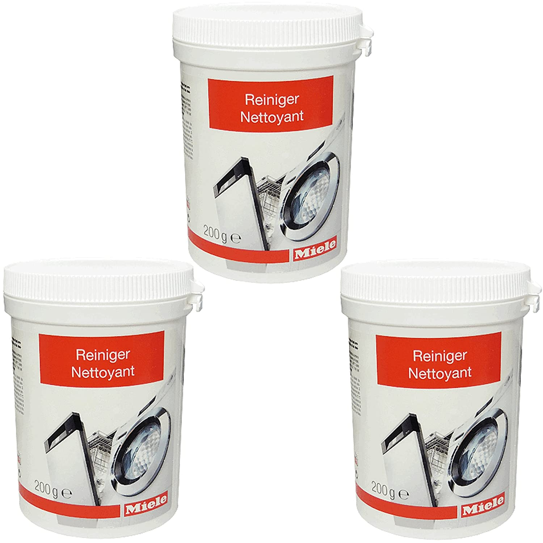 Miele - Nettoyant de Machines à laver 10133940 - Boîte 200 g (Lot de 3)