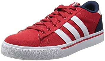 a9c19c9a909b ... spain adidas neo st daily lo red canvas men sneakers shoes f8684 08ada