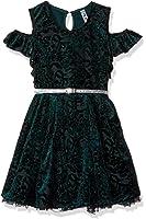 Beautees Big Girls' Cold Shoulder Dress