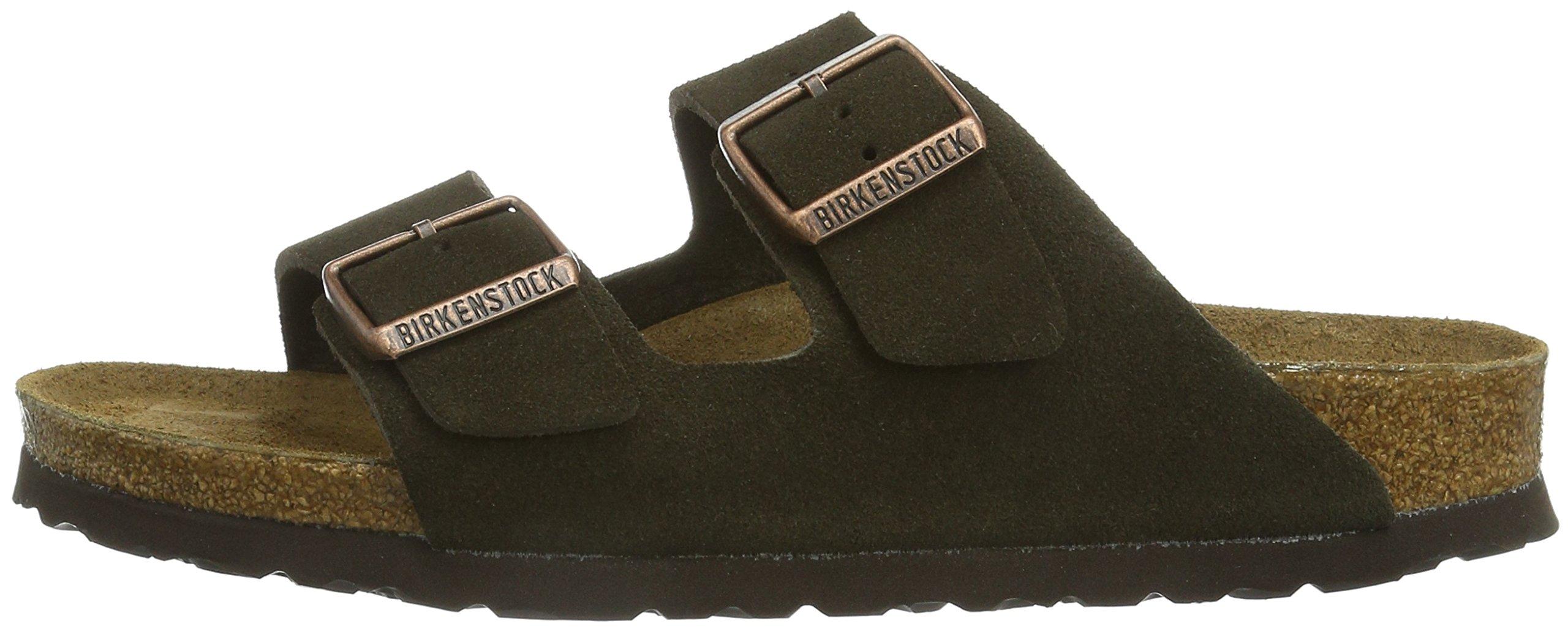 Birkenstock Women´s Arizona Mocha Suede Sandals 37 N EU N 951313 by Birkenstock (Image #5)