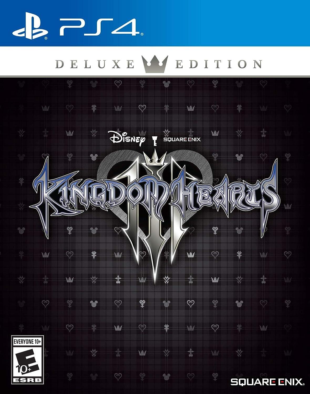 bf0b82c61cc Amazon.com  Kingdom Hearts III - PlayStation 4 Deluxe Edition  Square Enix  LLC  Video Games