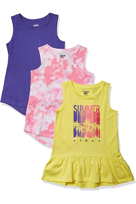 GIRLS YOUNG HEARTS LACE TRIM FLORAL CAMI TOP AT KIDS CASUALS 7 YEARS TO 14 YEARS