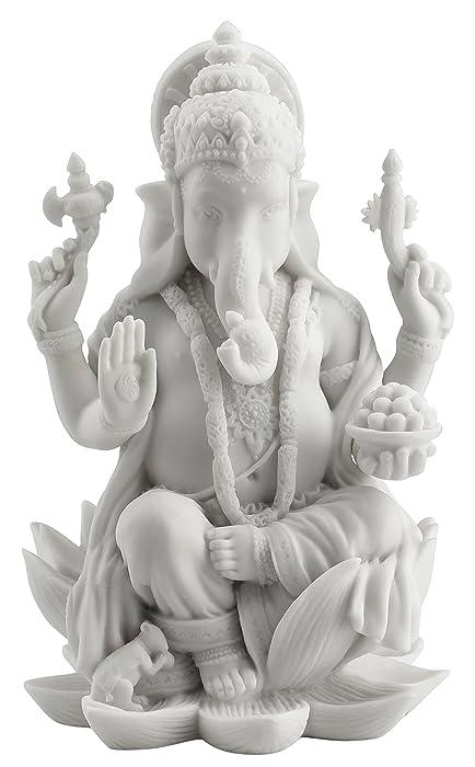 Rare Ganesh (Ganesha) Hindu Elephant God of Success Statue, 7 1/4-inch