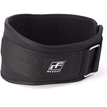 RitFit Weight Lifting Belt - Great for Squats