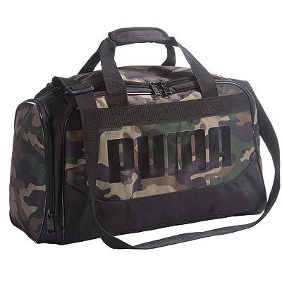 "chic Puma Transformation Duffel Bag 19"" Camo Gym Bag Sports Bag Carry On School Bag Weekend Overnight Duffle"