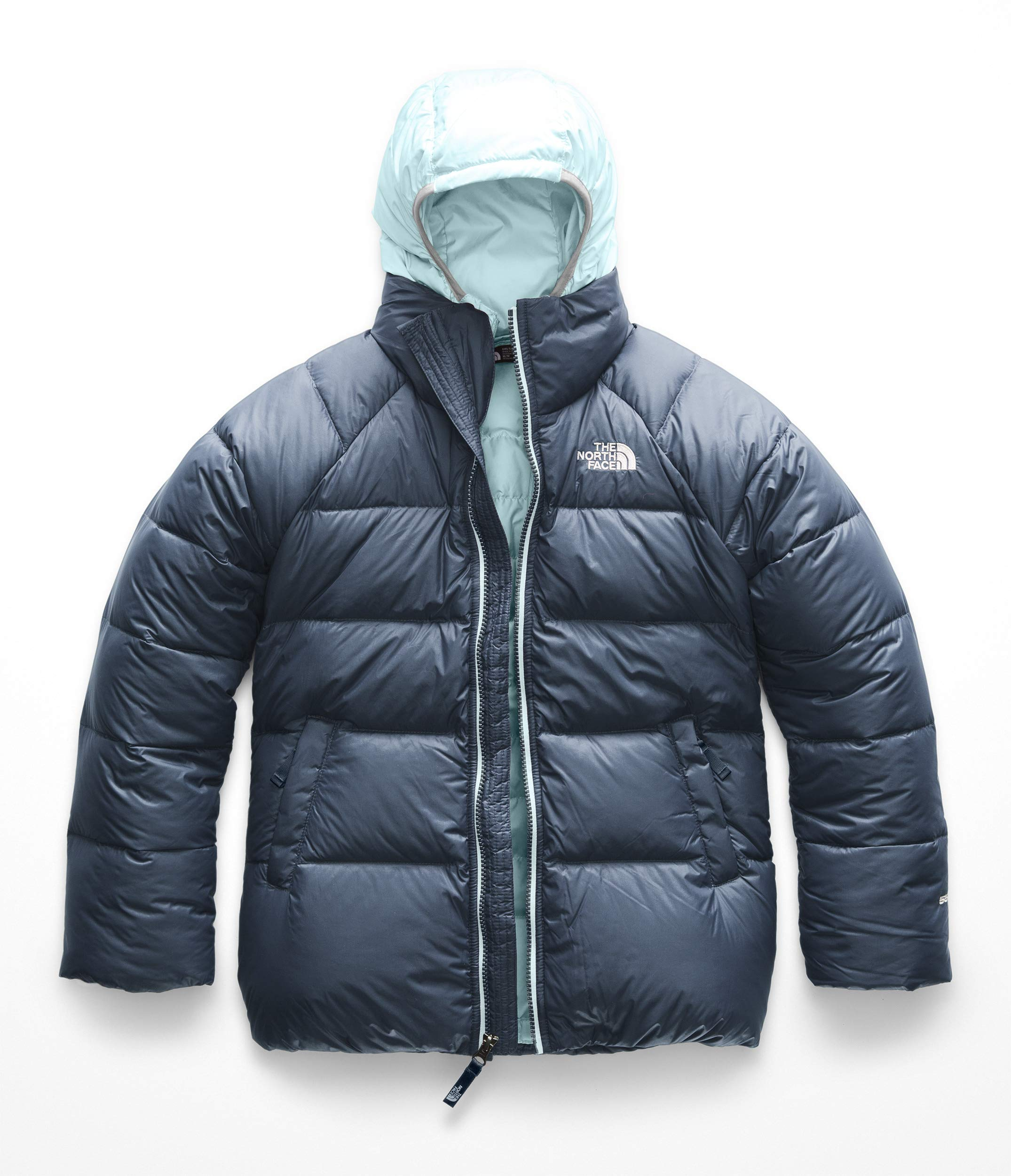 The North Face Kids Girl's Double Down Triclimate (Little Kids/Big Kids) Blue Wing Teal Medium