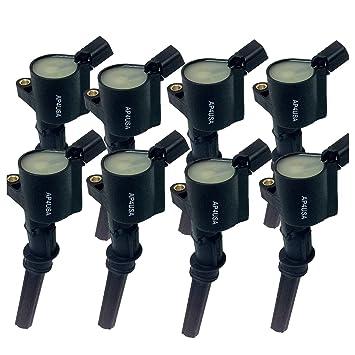 New Ignition Coil 4 6l 5 4l 6 8l V8 With Springs Set Of 8 Dg508 C566 F523 E213 Dg491 Oem 1l2z12029aa