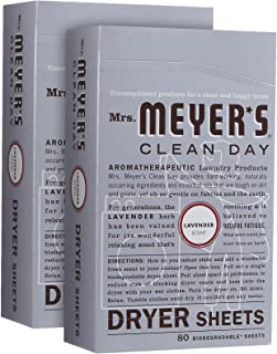 product image for Mrs. Meyer's Clean Day Dryer Sheets - Lavender - 80 ct - 2 pk