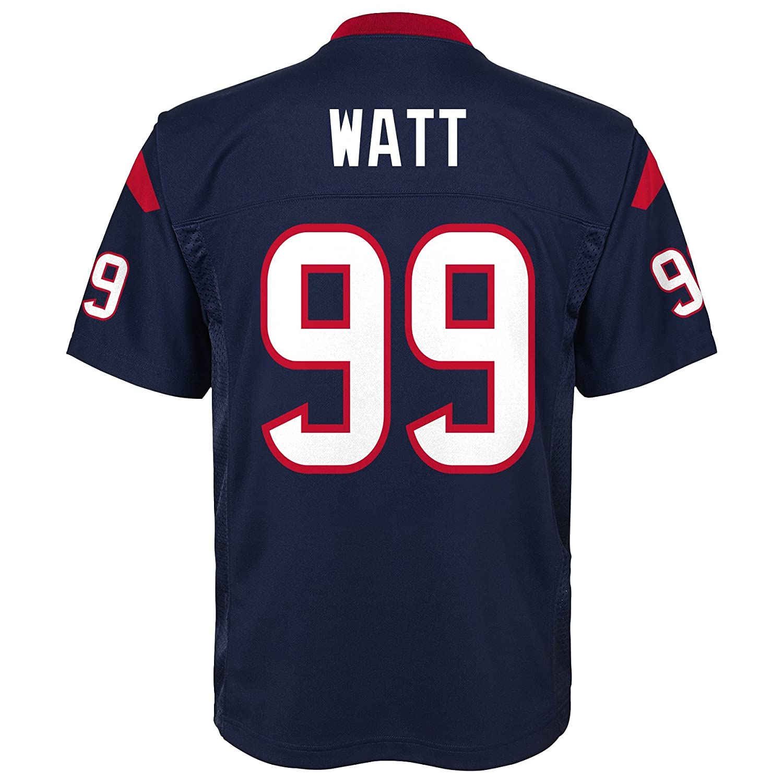 fb57f35043a Amazon.com   NFL Youth Boys 8-20 J. J. Watt Houston Texans Boys -Player  Name Jersey