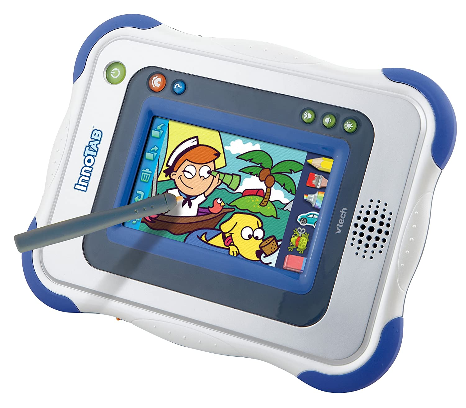 Amazon VTech InnoTab 1 Kids Tablet Blue Toys & Games