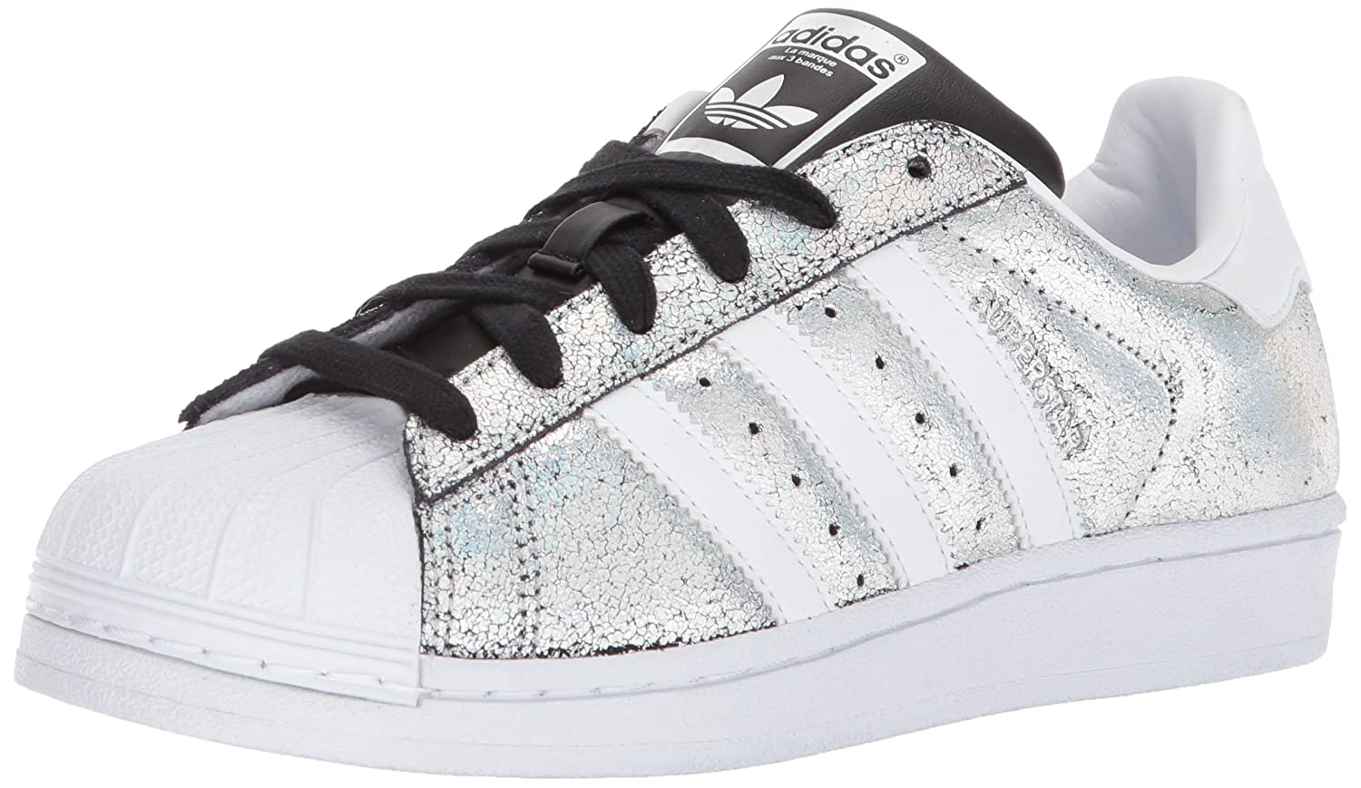 adidas Originals Women's Superstar W Sneaker B071LFR98B 9.5 B(M) US|Supplier Colour/White/Core Black