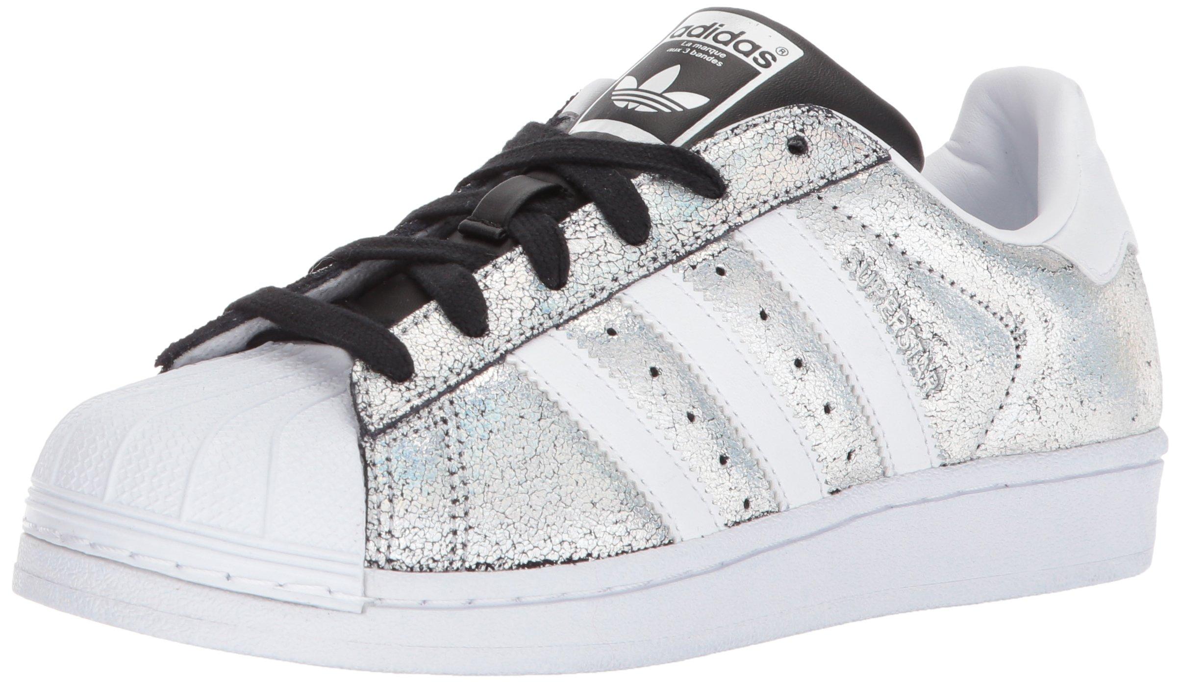 adidas Originals Women's Superstar W Sneaker, Supplier Colour/White/Core Black, 8.5 M US