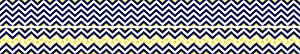 Barker Creek - Office Products Double-Sided Bulletin Board Border, Chevron Navy, 35' (LL-988)