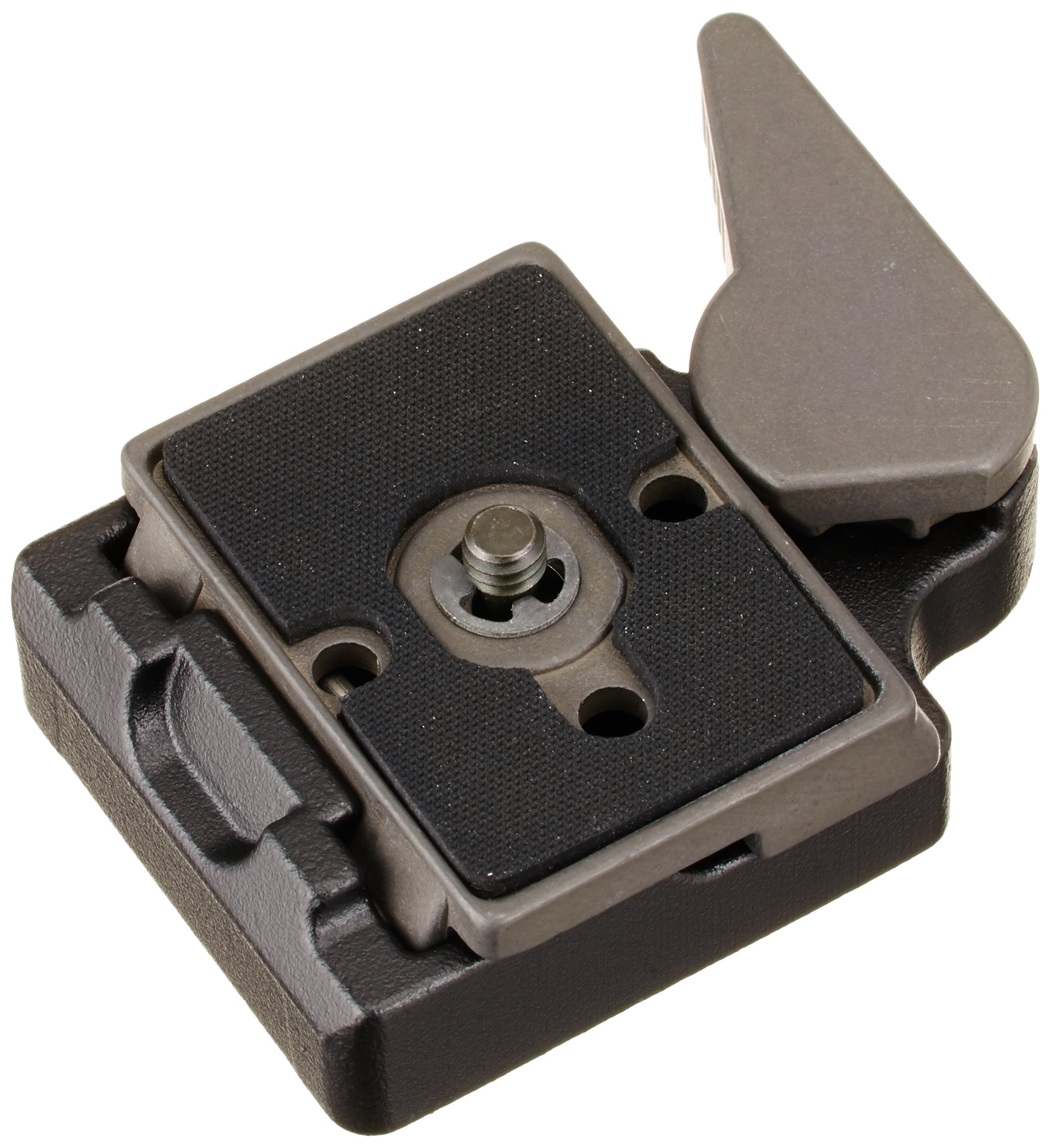 Manfrotto 323 RC2 Rapid Connect Adapter with 200PL-14 Quick Release Plate - Replaces 3299-Black by Manfrotto