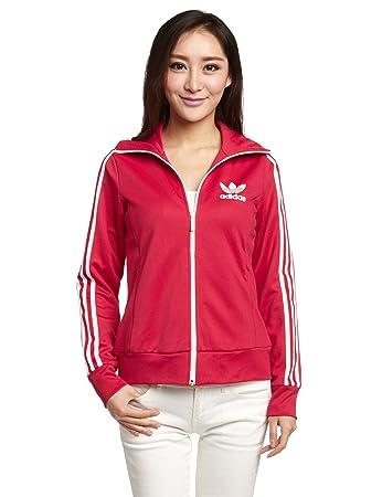 adidas Europa TT Jacke Damen Trainingsjacke Sportjacke Pink