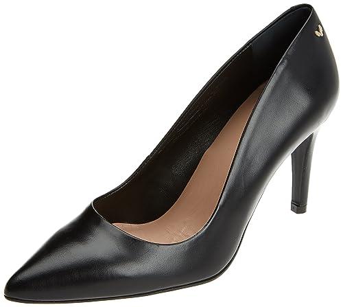 Etive, Zapatos de Tacón con Punta Cerrada para Mujer, Negro (Black), 37 EU Martinelli
