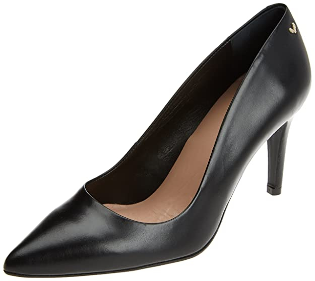 Selena 1365-3486N, Zapatos de Tacón con Punta Cerrada para Mujer, Negro (Black), 37 EU Martinelli