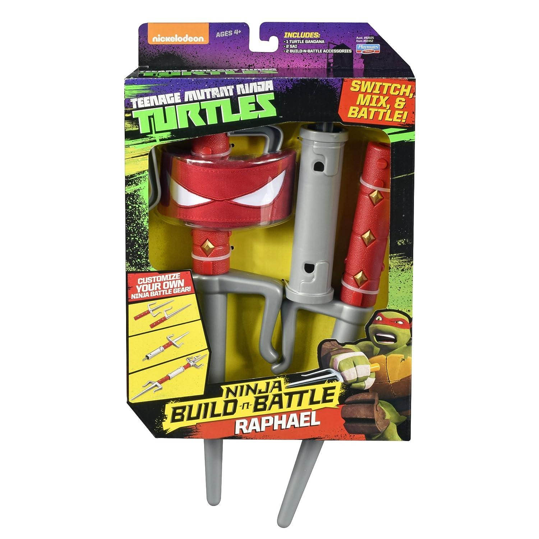 Amazon.com: Teenage Mutant Ninja Turtles Build N Batalla ...