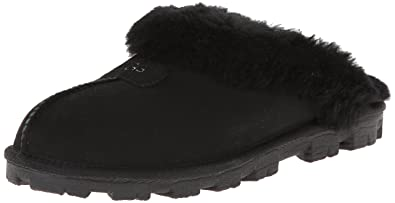 e1974efbe29 UGG Women's Coquette Slipper, Black, 6 UK (8 US)