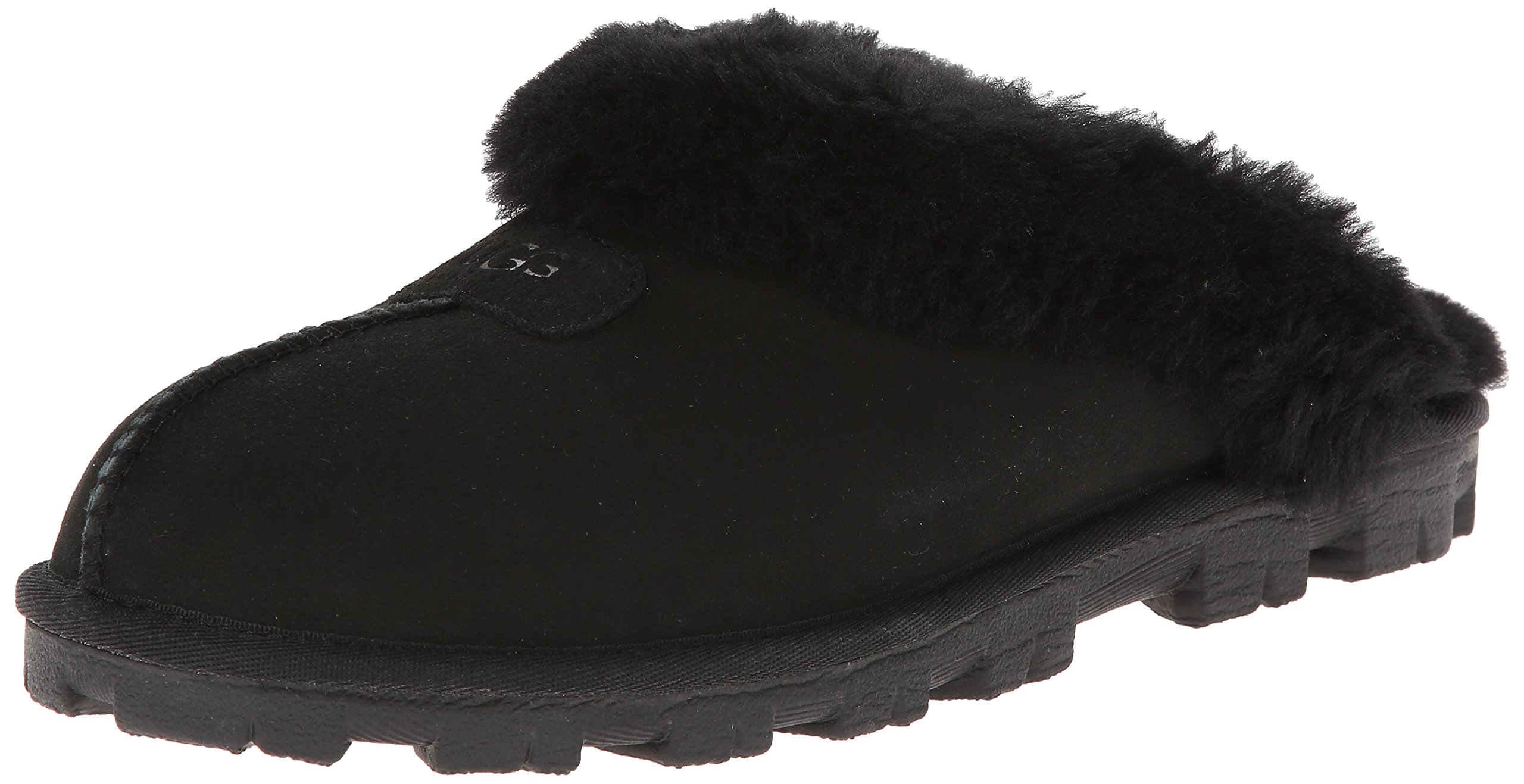 UGG Women's Coquette Slipper, Black, 11 US/11 B US