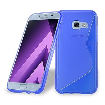 Cadorabo - Carcasa de Silicona para Samsung Galaxy A5 2017 (7), Color Azul