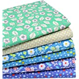 """iNee Fat Quarters Quilting Fabric Bundles, Cotton Fabric for Quilting Sewing, 18""""x22"""""""