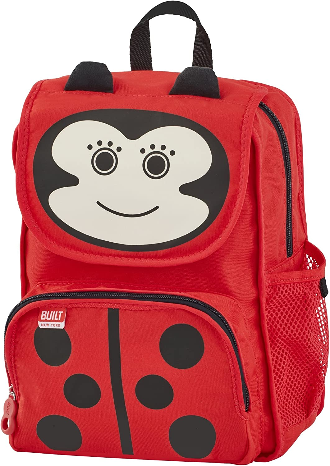 Built NY 5178578 Big Apple Buddies Water Resistant Polyester Backpack, Lafayette Ladybug