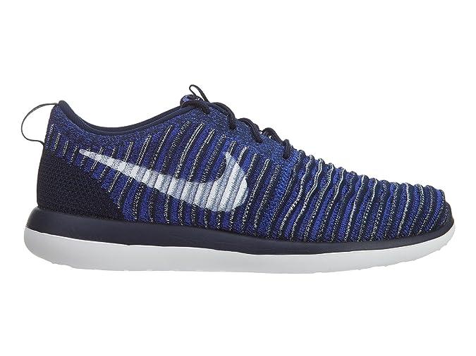 Estilo para hombre de Nike Roshe Two Flyknit (Gs): 844619-401 Tama ...