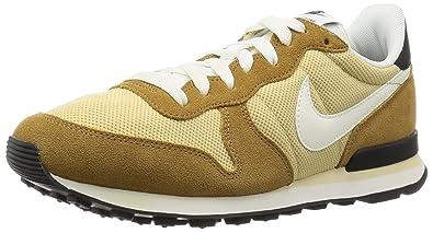 new product 571d4 d341b Nike Men s s Internationalist Running Shoes Dorado (Vegas Gold Sail-Rocky  Tan-Black